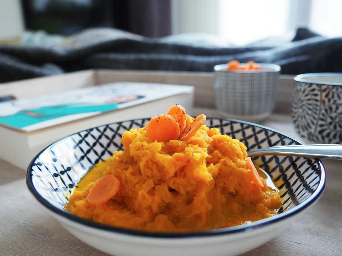 Zeit für Frühstück! Karotten-Süßkartoffel-Breakie