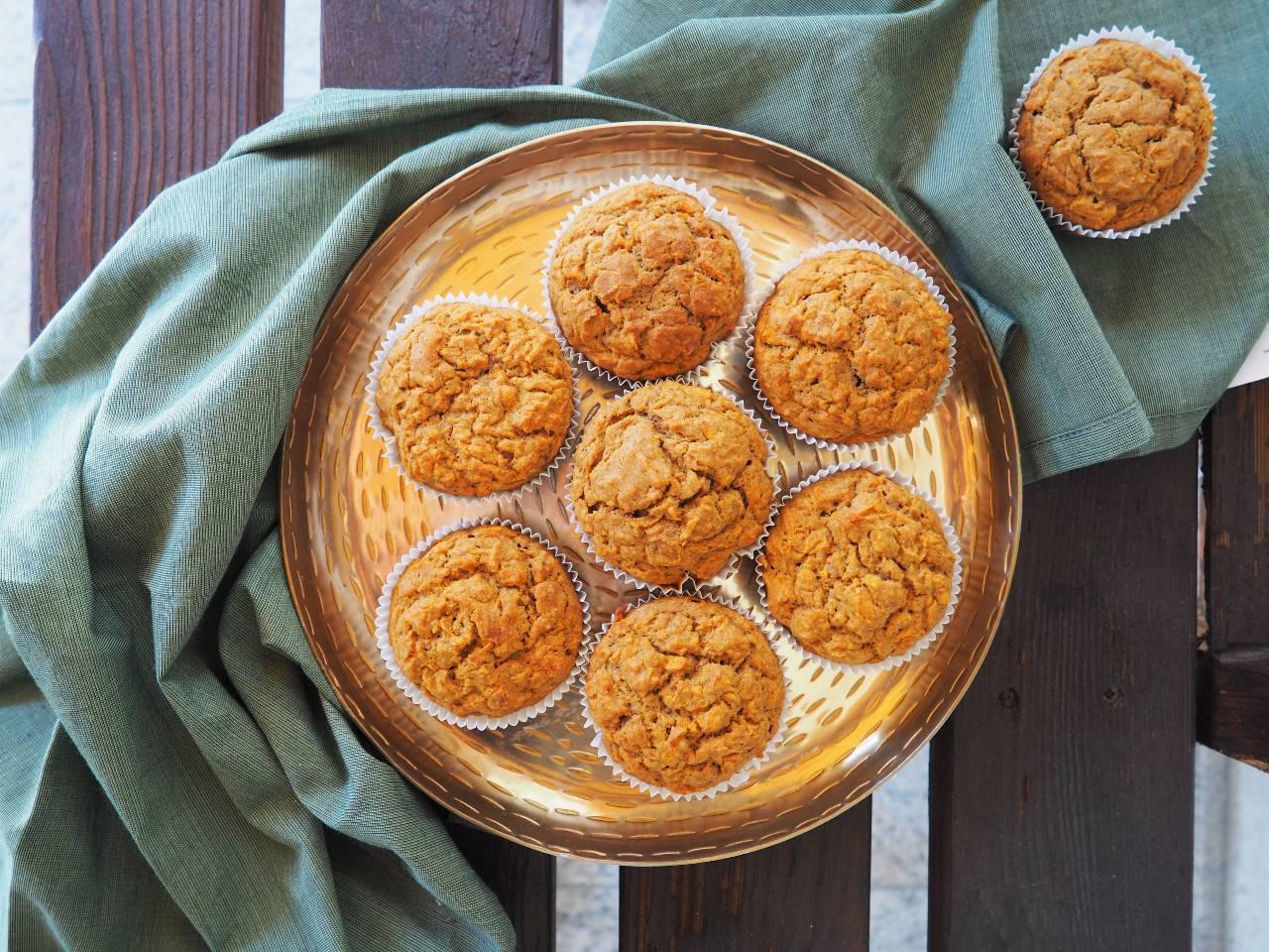 Zeit zum Naschen! Gesunde Apfel-Karotten-Muffins