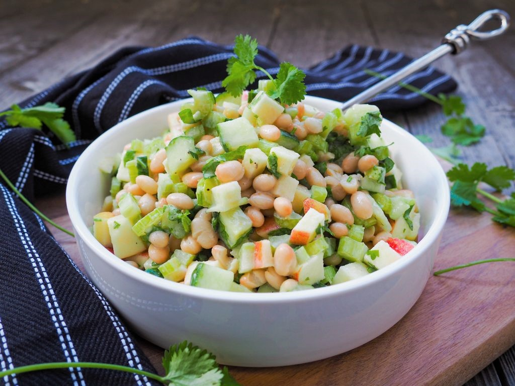 Weltbester Bohnensalat – Vegan, gesund und lecker